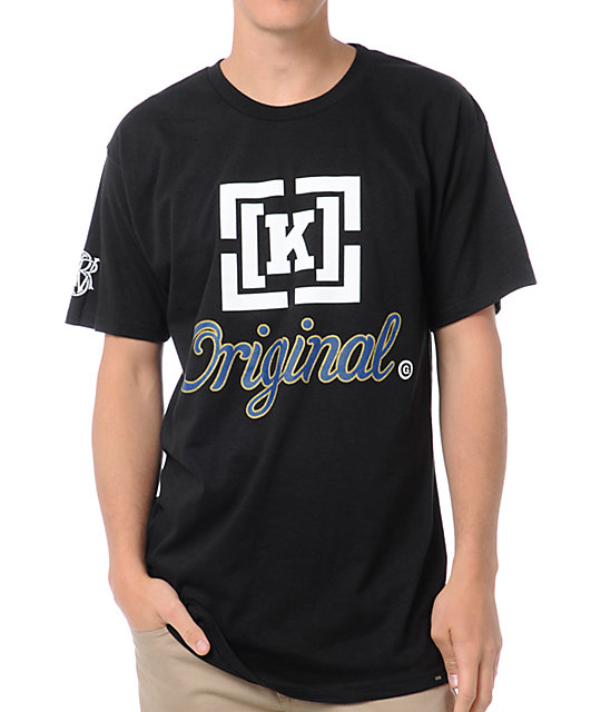 KR3W Original 3 Black T-Shirt