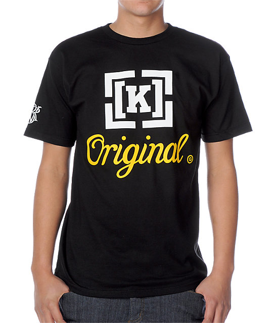 KR3W Original Black T-Shirt