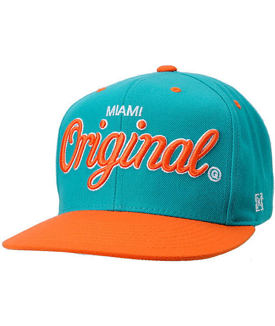 KR3W Original Miami City Snapback Hat