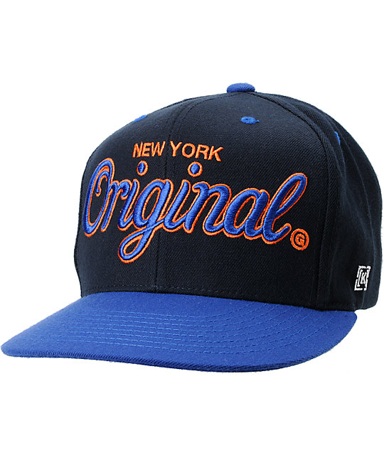 KR3W Original New York City Snapback Hat