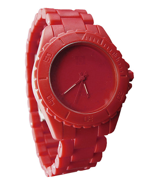 KR3W Phantom Red Analog Watch