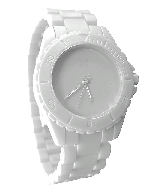 KR3W Phantom White Analog Watch