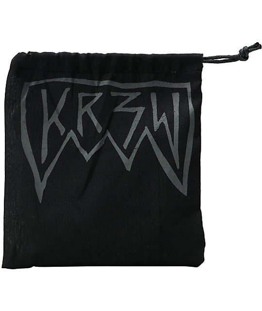 KR3W RV Bifold Black Wallet
