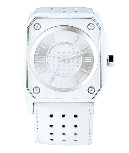 KR3W Stealth White Analog Watch