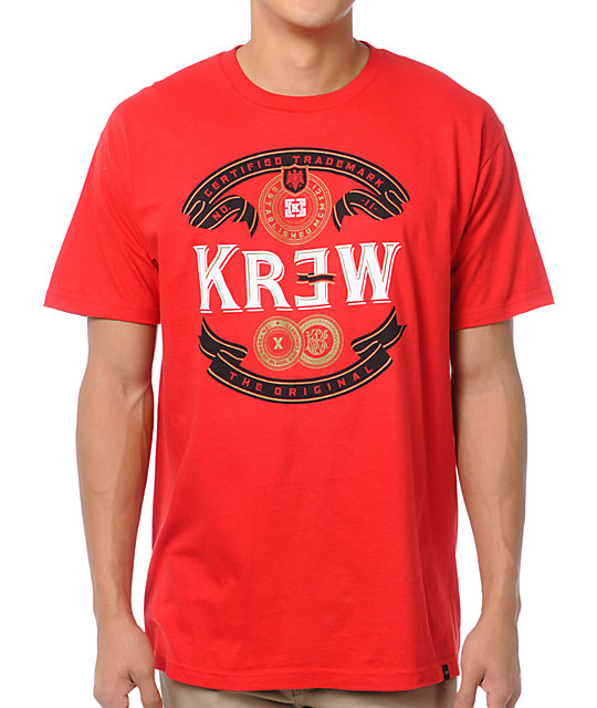 KR3W Superior Red T-Shirt