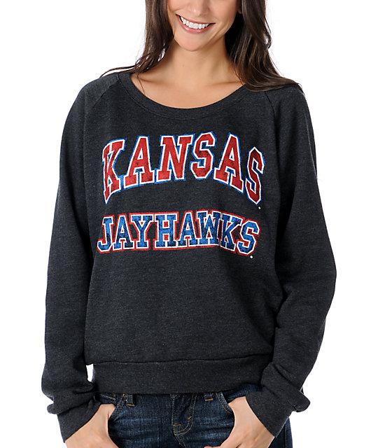 Kansas Jayhawks College Football Sweatshirt