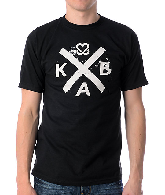 Keep A Breast Foundation Cross Out Black T-Shirt