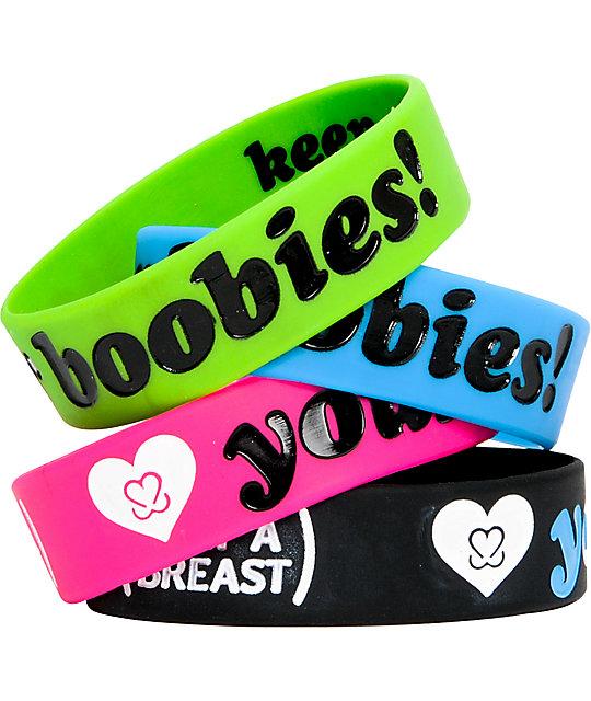 Keep A Breast Foundation Heart Your Boobies Bracelet