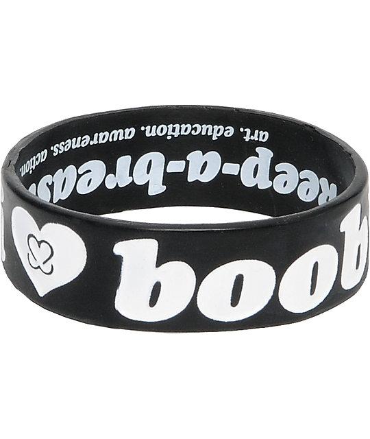 Keep A Breast Foundation I Love Boobies Bracelet
