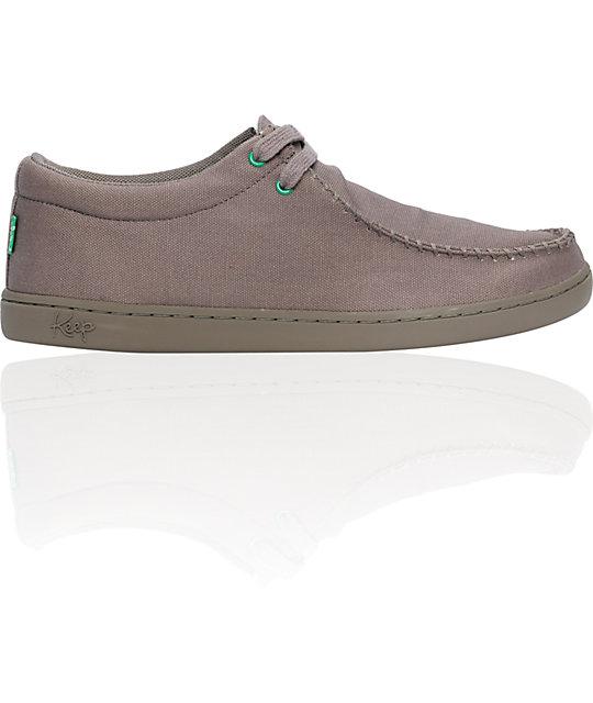 Keep Solis Grey Canvas Shoes