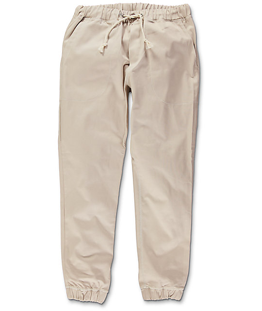 Kennedy Boarder Cream Jogger Pants