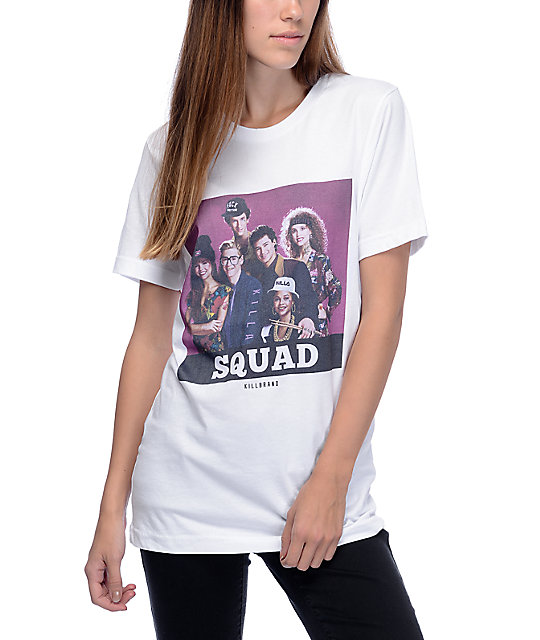 Kill Brand Saved By The Bell Squad White T-Shirt