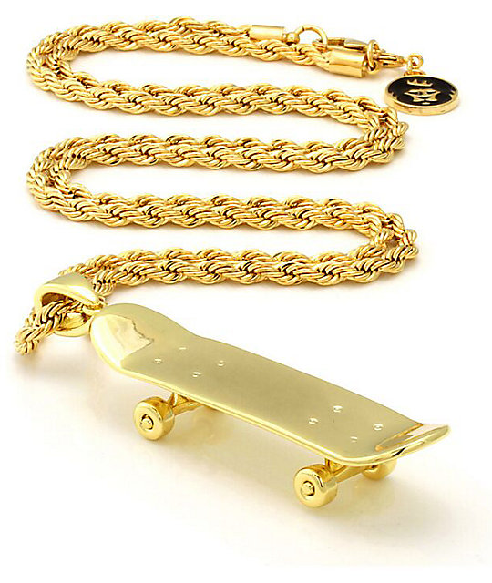 Gold Skateboard Brand King Ice Skateboard Gold