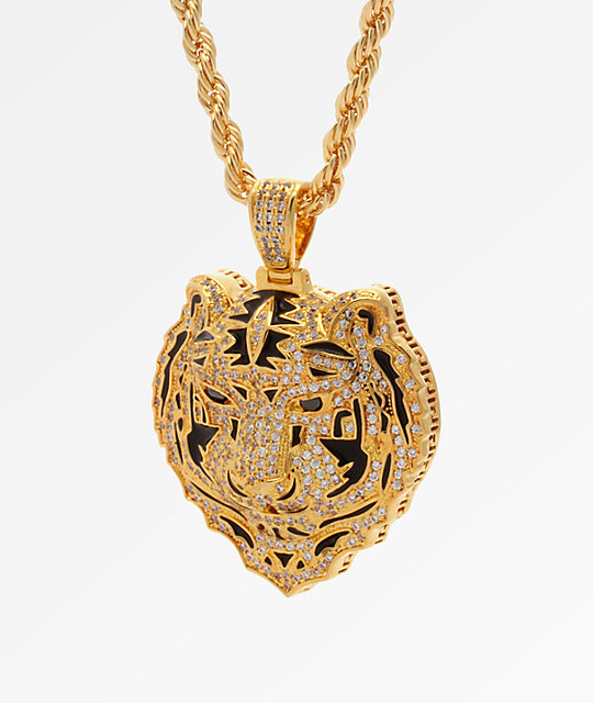 King Ice X Snoop Dogg The Bengal Gold Necklace At Zumiez Pdp