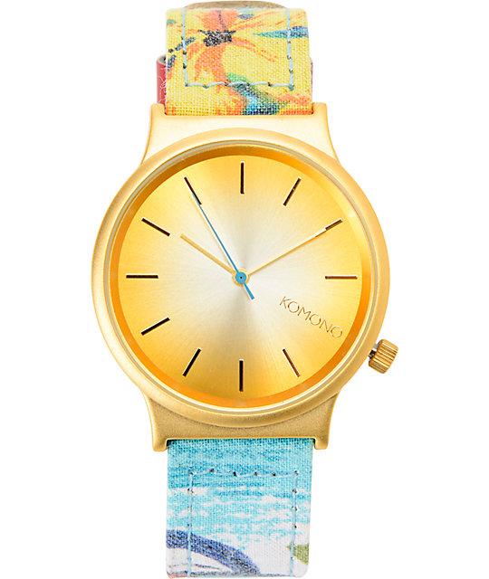 Komono Endless Summer Wizard Print Watch