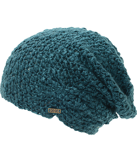 Krochet Kids Lilly Teal Beanie