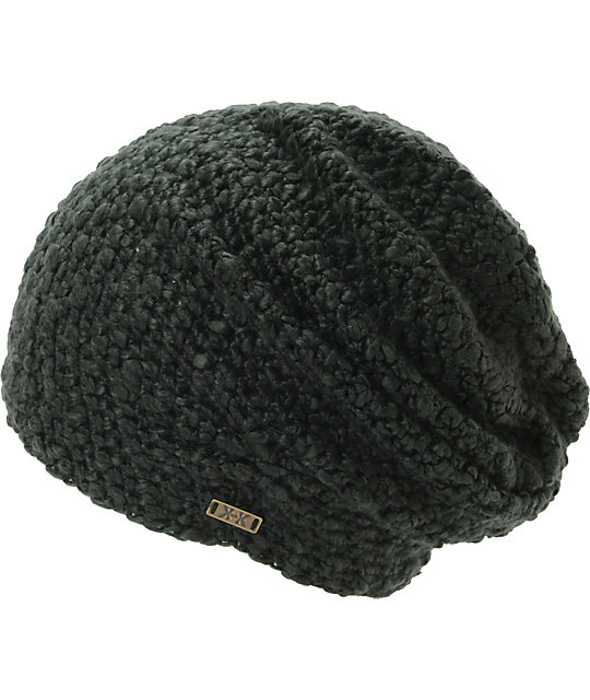 Krochet Kids Lilly Washed Black Beanie