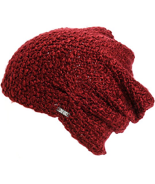 Krochet Kids Lilly Wine Beanie