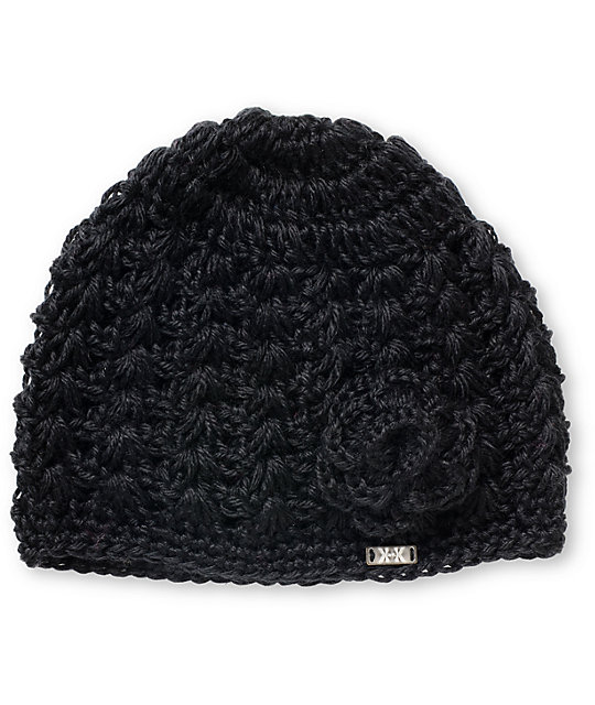 Krochet Kids Margot Black Beanie