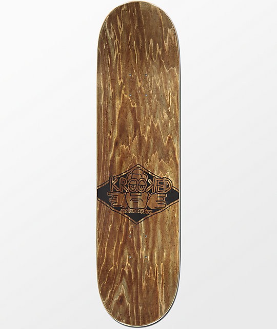 "Krooked Drehobl Crushing It 8.5"" Skateboard Deck"