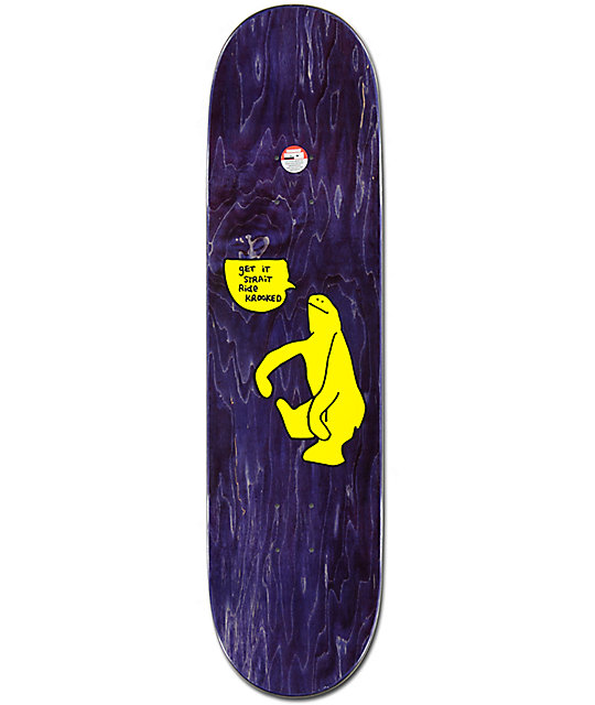 "Krooked Schmoo Cut 8.25"" Skateboard Deck"