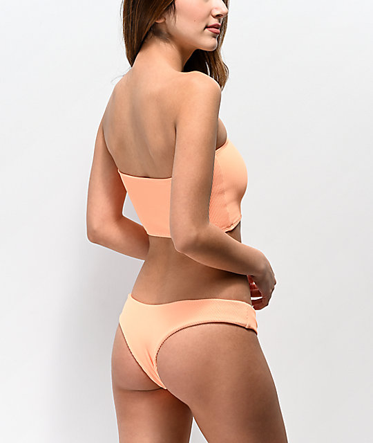 Kulani De Kinis Braguitas Bikini Mango Acanaladas vNwmn80O
