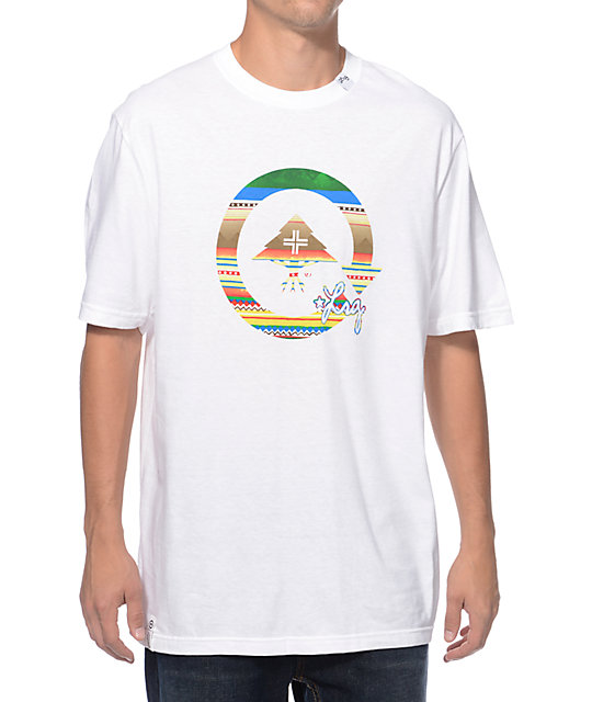LRG 147% Unnatural White T-Shirt