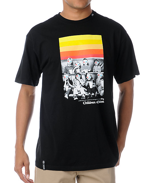LRG 47Th Dimension Black T-Shirt