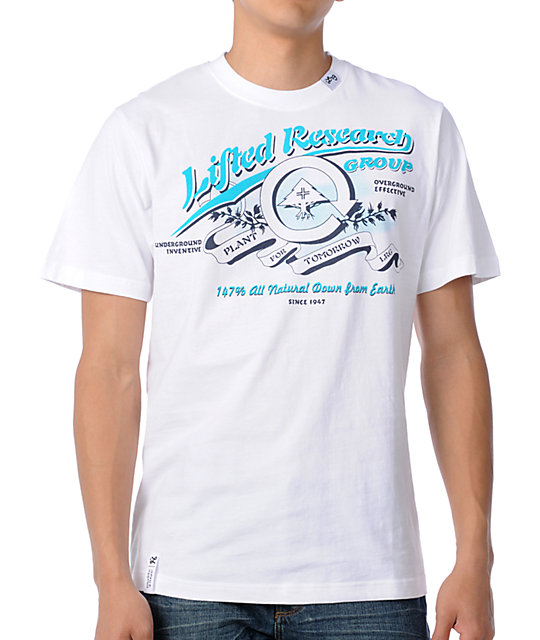 LRG All Natural White T-Shirt