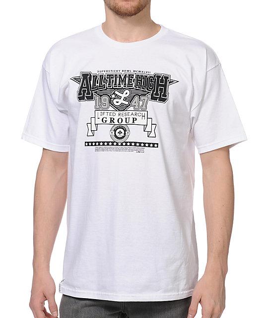 LRG All Time High White T-Shirt
