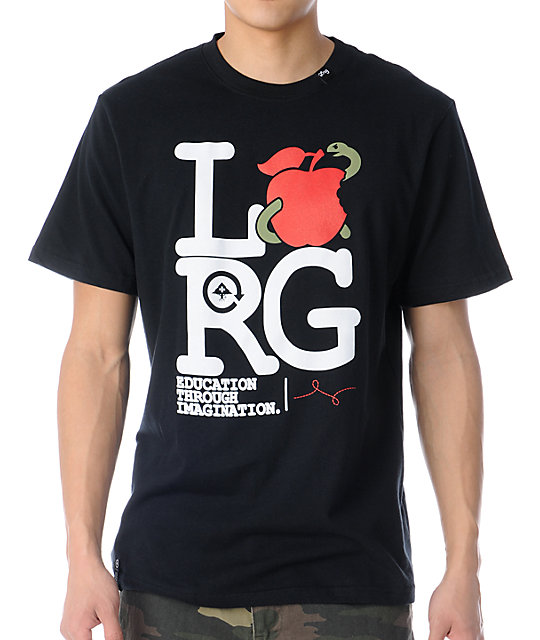 LRG Apple Eater Black T-Shirt