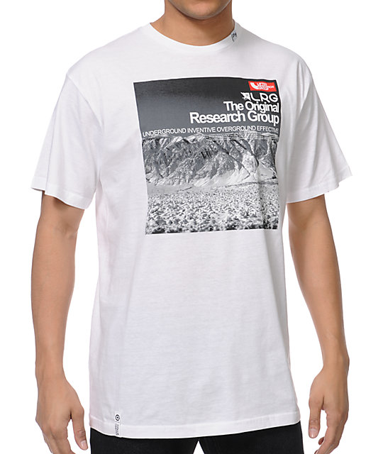 LRG Artic Trails White T-Shirt