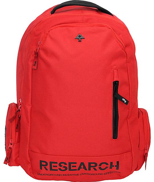 LRG Bagged Red Backpack