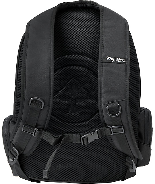 LRG Black Bagged Laptop Backpack