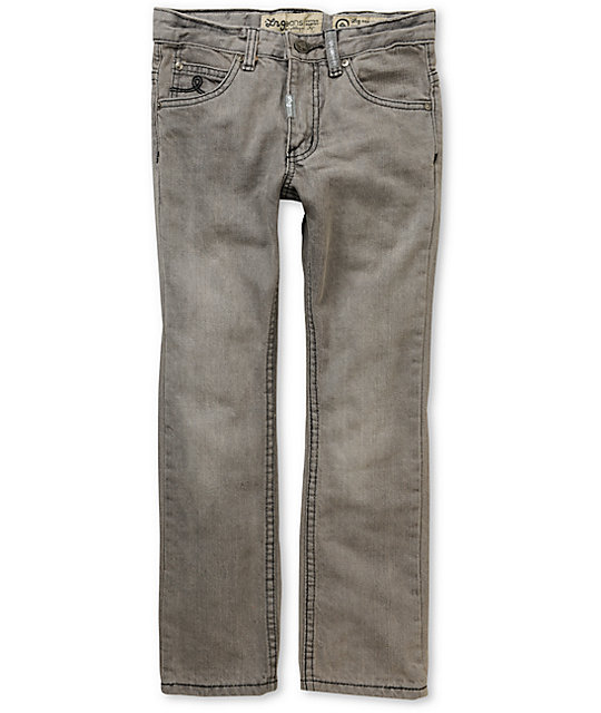 LRG Boys Core Ash Grey Skinny Jeans