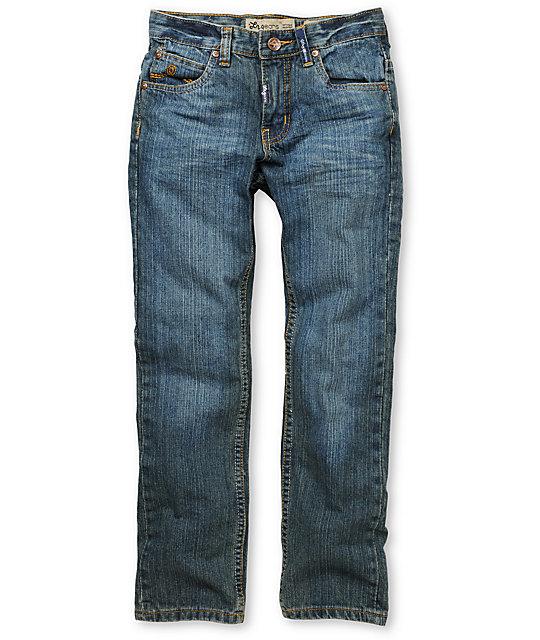 LRG Boys Core Blue Skinny Jeans