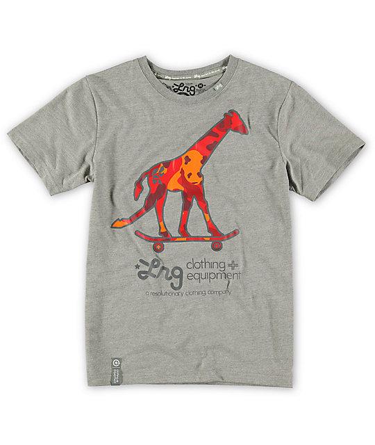 LRG Boys Grassroots Giraffe T-Shirt