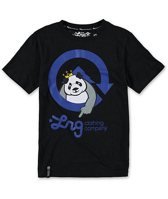 LRG Boys Homeboy Panda Black T-Shirt