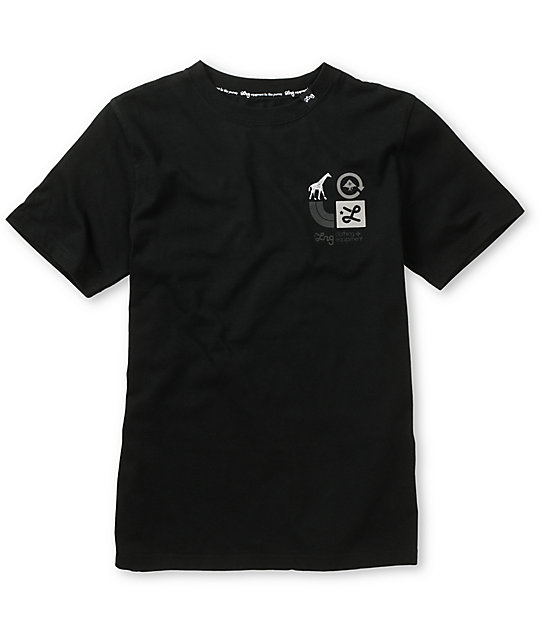 LRG Boys Inventive Black T-Shirt