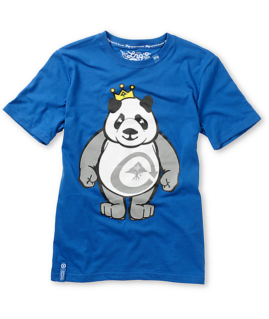 LRG Boys King of Style Blue T-Shirt