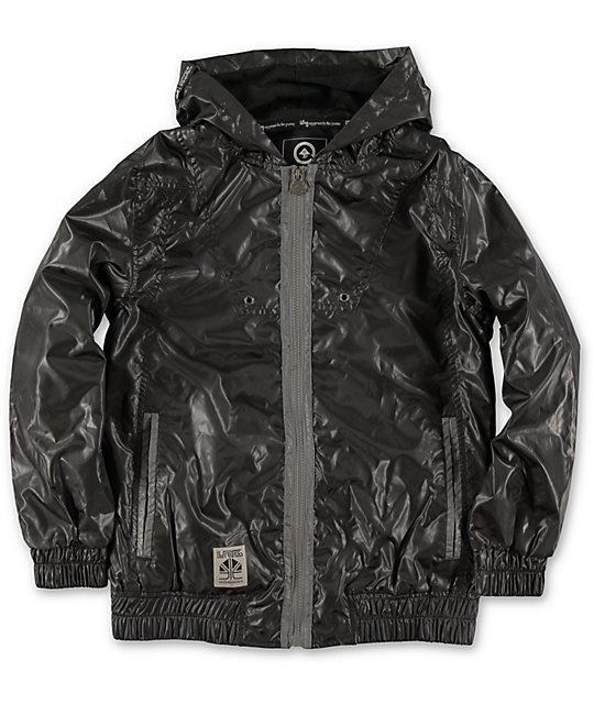 LRG Boys LR-Tek Knowledge-G Black Jacket