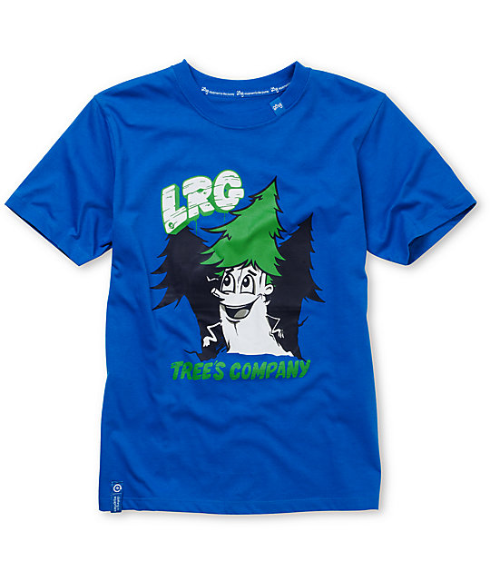 LRG Boys Trees Company Royal Blue T-Shirt