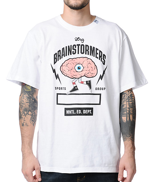 LRG Brainstormer White T-Shirt