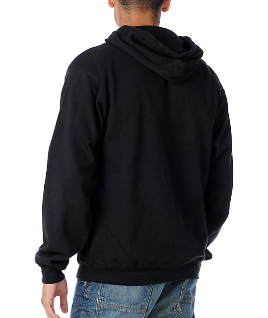 LRG Built On Design Black Pullover Hoodie
