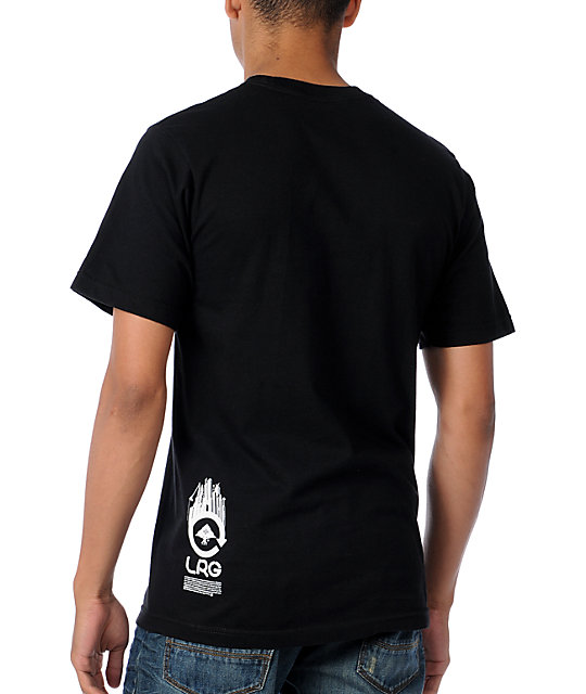 LRG Built On Design Black T-Shirt
