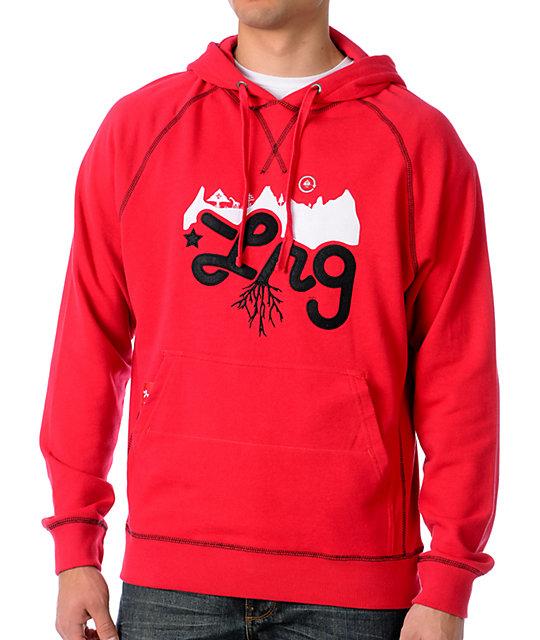 LRG CC 2 Red Hoodie