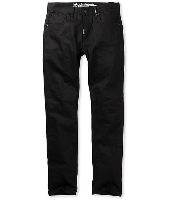 LRG CC Black Slim Jeans