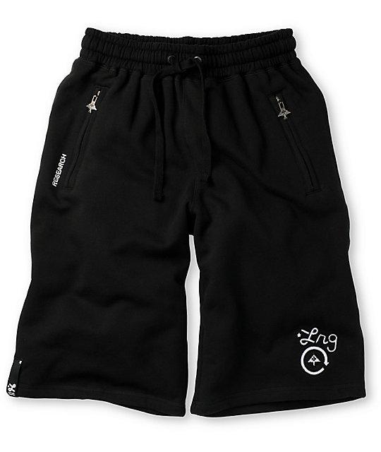 LRG CC Black Sweat Shorts