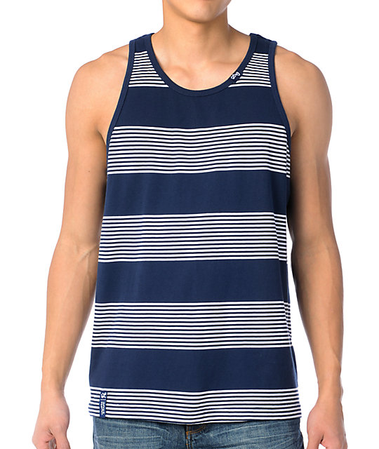 LRG CC Blue Tank Top