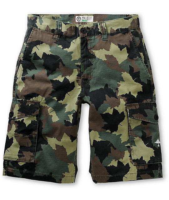 LRG CC Camo Cargo Ripstop Shorts